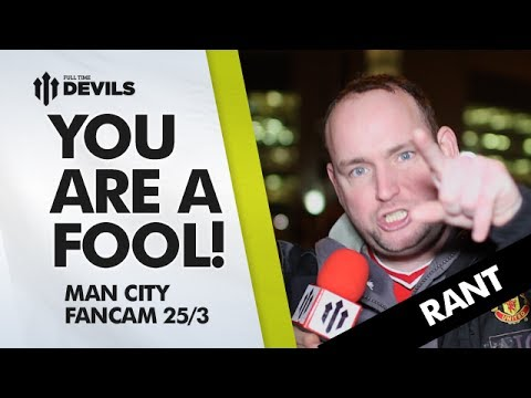 Biggest Fool In Manchester! | Manchester United 0-3 Manchester City | REVIEW