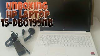 HP 15-DB0199NB LAPTOP UNBOXING