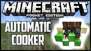 AUTOMATIC COOKER - MINECRAFT PE - 4x4x3 SUPER COMPACT