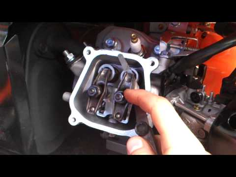 how to adjust valves on honda gx, or chinese replicas