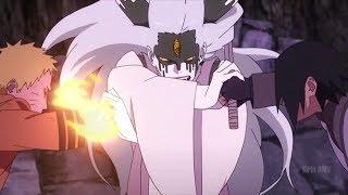 Naruto  sasuke and boruto vs momoshiki otsusuki na