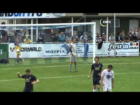 2013 OFC Champions League 2013.04.21 Auckland City FC vs Waitakere United Highlights