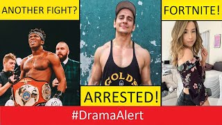 KSI and Jake Paul FIGHT!? #DramaAlert Vitalyzdtv & Racka Racka ARRESTED! Pokimane In FORTNITE!