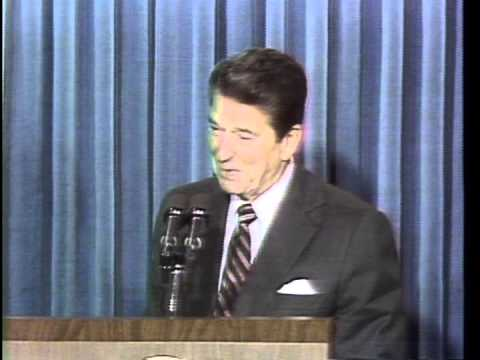 President Ronald Reagan nominates Sandra Day O'Connor to US Supreme Court, August 19, 1981