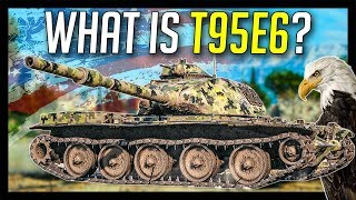 """► T95E6, Exclusive """"95"""" from USA - World of Tanks T95E6 Gameplay"""