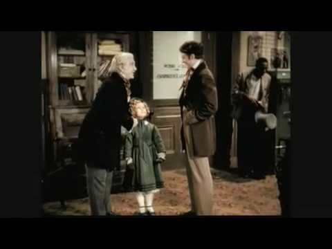 """A few scenes from the 1936 film Dimples. In them, Allen Drew is staging the world's first production of """"Uncle Tom's Cabin"""", and he asks to see Professor Eustace Appleby and his granddaughter,..."""