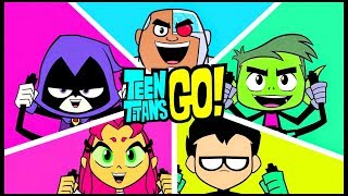Teen Titans Go Full Episode | Robin - Cyborg - Raven | DC Comics Cartoon Network Games for Kids