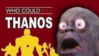 Who Can Beat Thanos Alone? Solo Infinity War