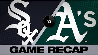 Fiers, bats power A's past White Sox | White Sox-A's Game Highlights 7/12/19