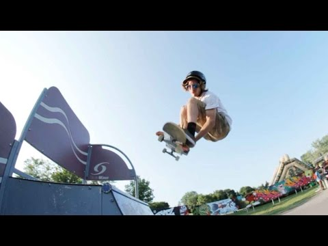 Ethernal Skate Films / Video recap X SkateFest Laval 2016 @ Skatepark Centre de la Nature