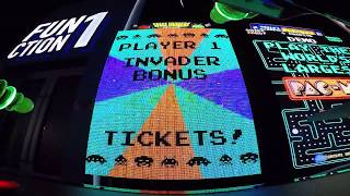 Space Invaders Frenzy Arcade Game SEVEN JACKPOTS IN A ROW!!!!!! (From 6/13/17)