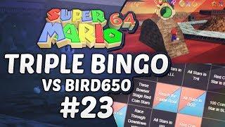 Super Mario 64 Triple Bingo vs Bird650 #23