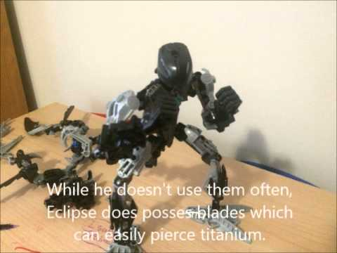 Bionicle MOC Slideshow: Eclipse: The Slythera of Darkness