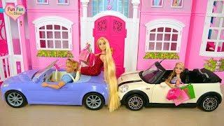 Disney Princesses Barbie dolls Party Dress up boneka Barbie gaun malam Bonecas Vestidos de noite