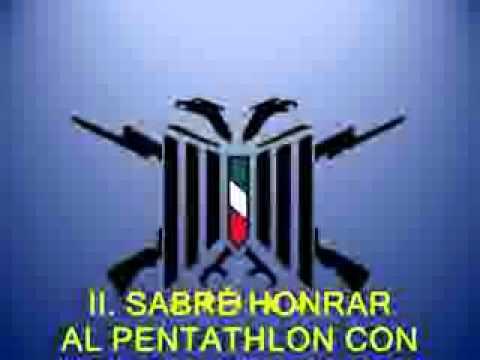 HIMNO DEL PENTATHLÓN DEPORTIVO MILITARIZADO UNIVERSITARIO, XXI ZONA PUEBLA