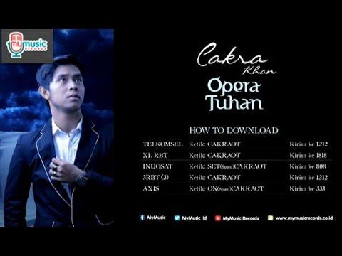 CAKRA - OPERA TUHAN (Official Karaoke Video)