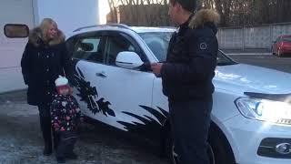 Покупка Zotye T600 в Драйв Авто