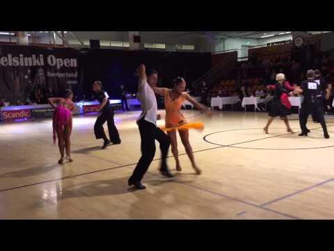 Helsinki Open Dance Festival 2014 World Open final Jive