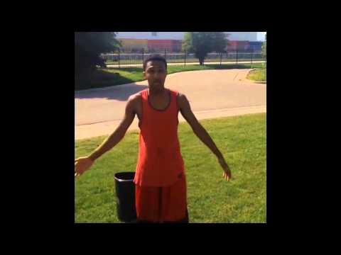 Mindless Behavior doing the Ice Bucket Challenge