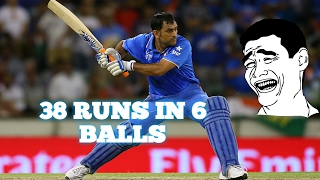 Download 38 runs in 6 balls || Worst over in Cricket History|| 3Gp Mp4