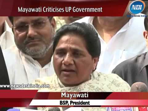 Mayawati slams Akhilesh Yadav government for bad administration