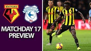 Watford v. Cardiff City   PREMIER LEAGUE MATCH PREVIEW   12/15/18   NBC Sports