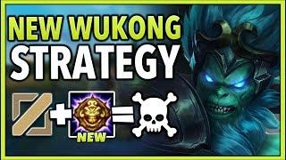 REWORKED WUKONG MID IS 100% BEYOND BROKEN! (INFINITE GANKS) - League of Legends