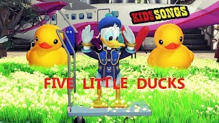Five Little Duck  | Kids Song | Baby Song |  Children Song | Nursery Rhyme