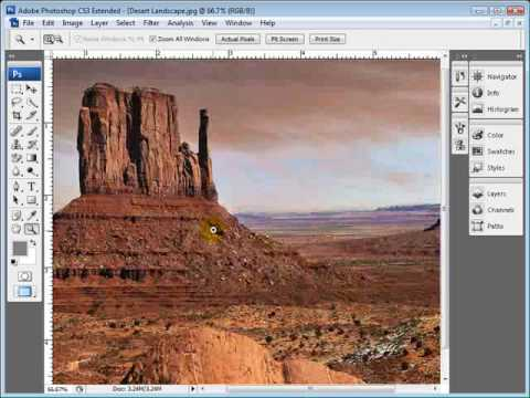 How To Crop a Photo in Photoshop