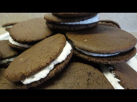 "Recipes Using Cake Mixes: #12 Homemade ""Oreo"" Cookies"