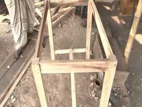 homemade wood desk plans
