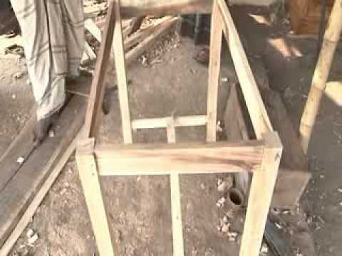 making wooden furniture