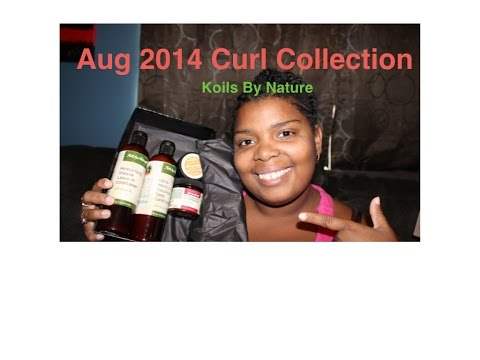 August 2014 Curl Collection Unboxing Koils By Nature