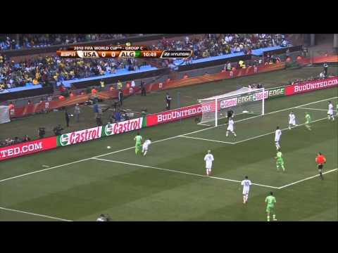USMNT algeria 2010 first half usa full game