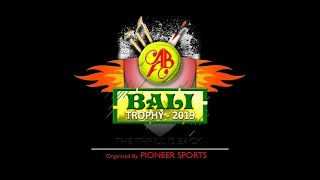 BALI TROPHY 2019 ORG BY- PIONEER SPORTS || PRINCE MOVIES || DAY 09