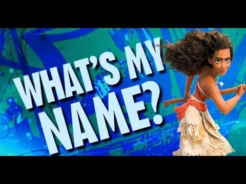What's My Name? ~ (Moana ft.  Maui, Drago Bludvist, Pitch Black, and Mor'du)