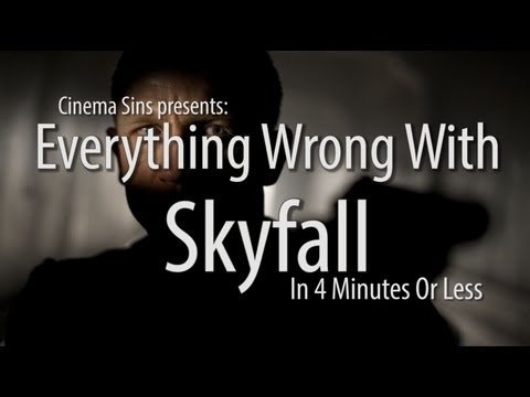 Everything Wrong With Skyfall In 4 Minutes Or Less video