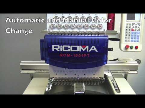 Control panel Ricoma Embroidery Machine by MetroEMB.com