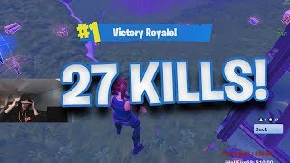 RECORD 27 Kill Win! | Fortnite
