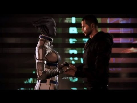 Mass Effect 3 Citadel DLC | Liara Romance, All Scenes