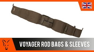 ***CARP FISHING TV***  Voyager Rod Bags