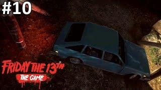 KABUR DENGAN MOBIL BERJALAN MUNDUR! - Friday the 13th: The Game (Indonesia)