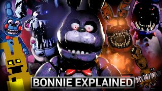 FNAF Animatronics Explained - BONNIE (Five Nights at Freddy's Facts)