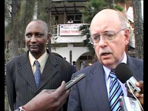 MaximsNewsNetwork: D.R. CONGO - UN's ROGER MEECE visits GOMA & NYANZALE (MONUSCO)