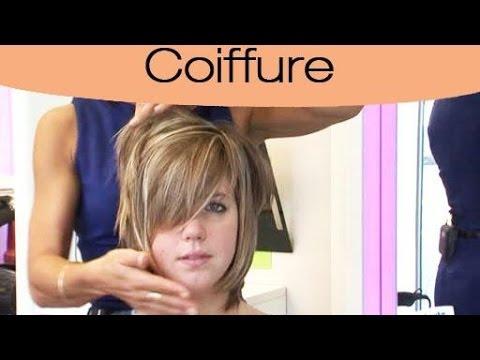 Coiffure pour visage rond : la coupe adéquate - YouTube