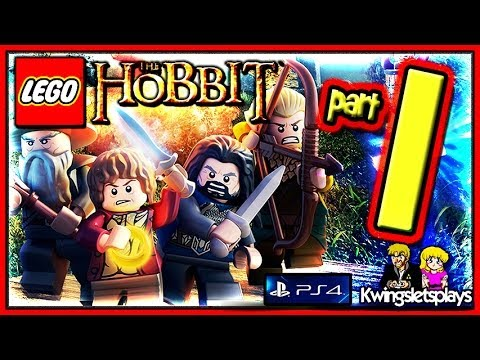 Lego the Hobbit - Walkthrough Part 1 Greatest Kingdom in Middle...