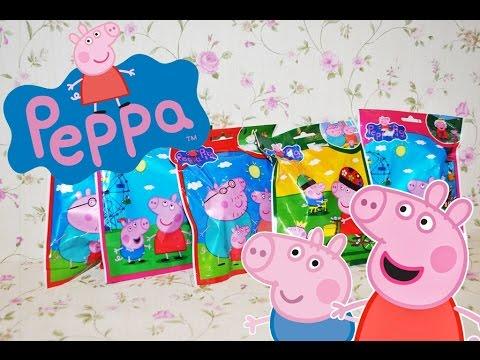 ❀Свинка Пеппа пакетики с игрушками сюрпризом ❀ Peppa Pig Blind Bags Toy Surprise Unboxing