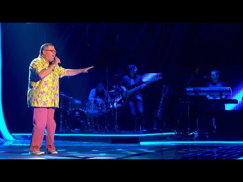 Dene Michael performs 'Never Give Up On A Good Thing' - The Voice UK 2015: Blind Auditions 3 - BBC
