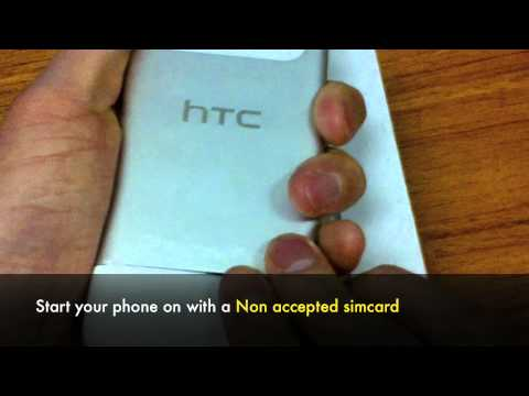 UNLOCK HTC RADAR - How to Unlock T-Mobile HTC Radar Windows Phone by Unlocking Code
