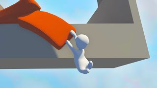 IMPOSSIBLE GANG BEASTS GAME! (Human Fall Flat)